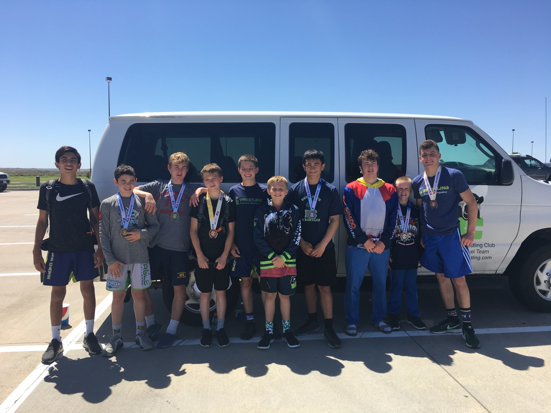 Bear Cave Van Travels To Dodge City, KS